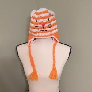 Homemade cat hat